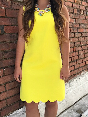 Lemon Burst Dress