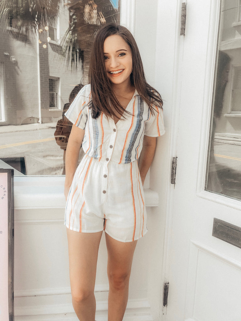 Might Fall Romper | Sassy Shortcake | sassyshortcake.com