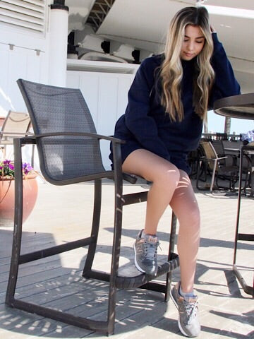 Navy Sweatshirt Dress | Warm Thoughts | Sassy Shortcake Boutique | sassyshortcake.com