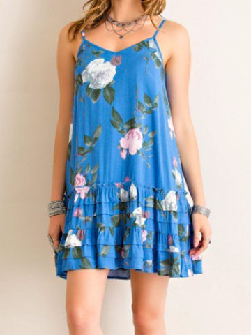 Island Hopper Dress | Blue