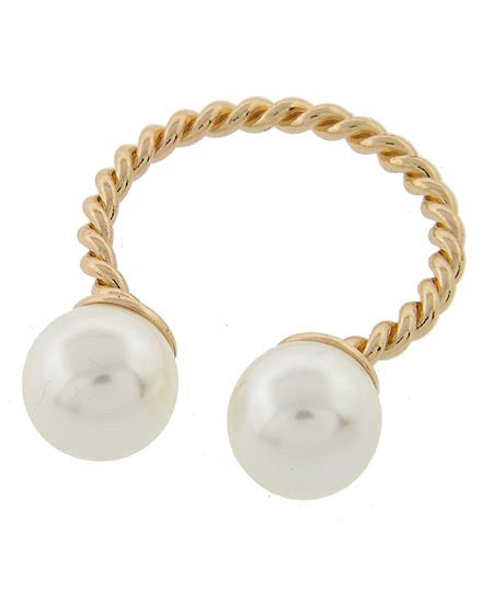 Knot Twist Pearl Ring | Sassy Shortcake Boutique