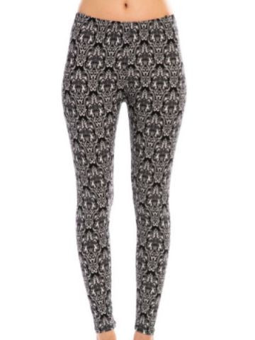 Patterned Leggings | sassyshortcake.com