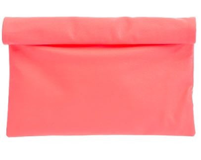 Bright Coral Clutch Bag | Sassy Shortcake