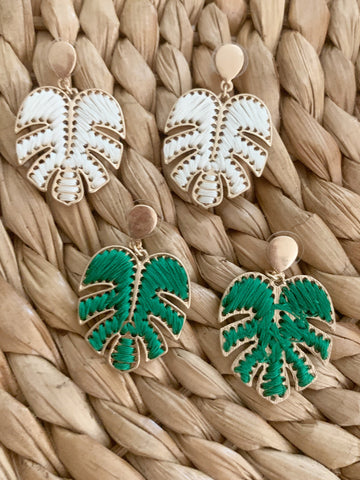 Palm Tropic Earrings