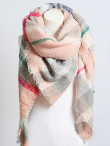 Perfectly Plaid Scarf