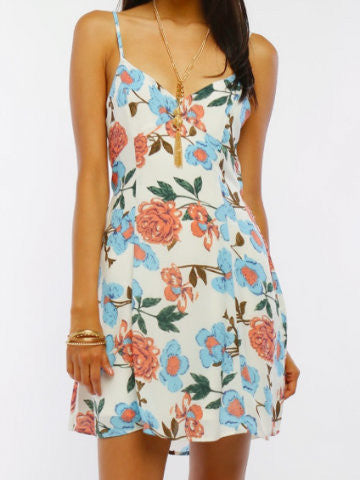 Petal Pusher Dress