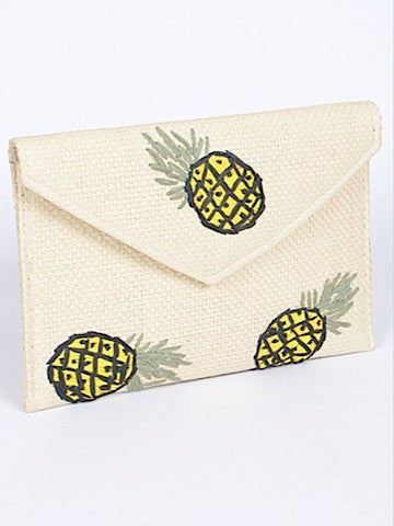 Pineapple Paradise Clutch