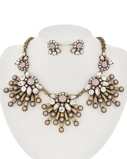 Pink Burst Necklace | Sassy Shortcake Boutique