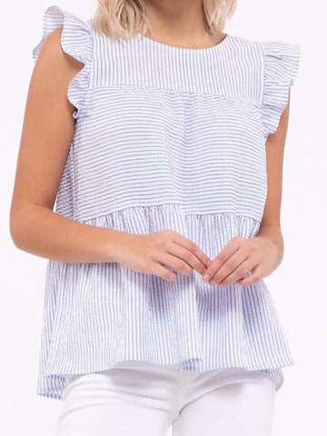 Seaside Stripes Top