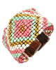 Beaded Princess Bracelet - Pink