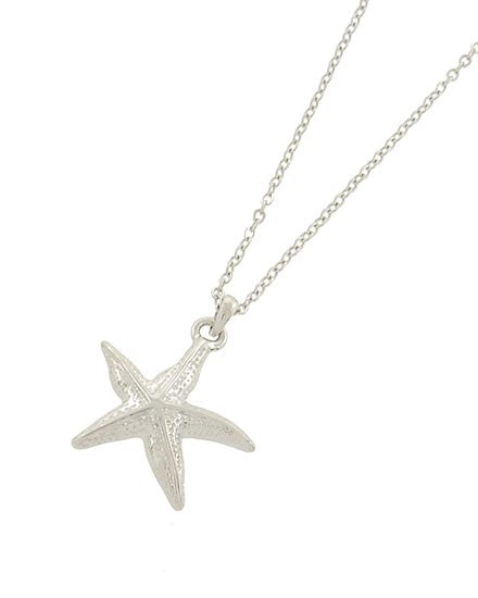 Star of the Sea Necklace Silver