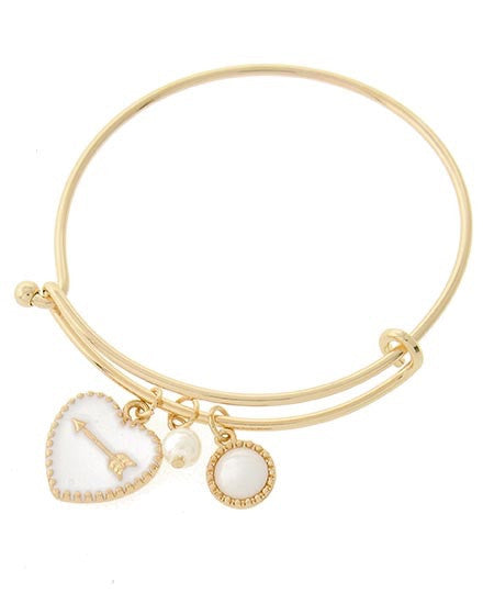 Straight to the Heart Bangle