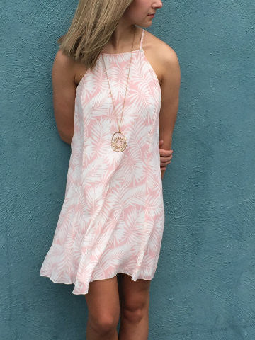 Palm Dress | sassyshortcake.com | Charleston boutique