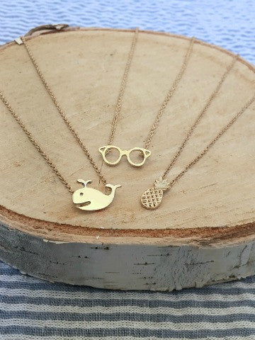 sunglasses charm necklace | sassy shortcake