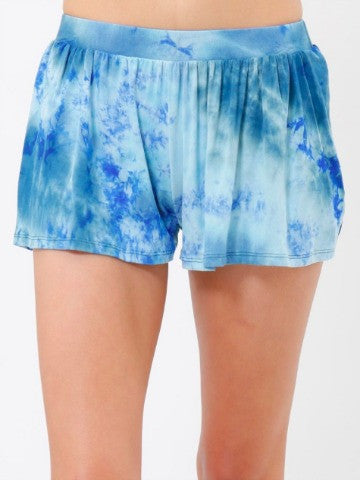 Catching Waves Shorts | Tie Dye Shorts from Sassy Shortcake
