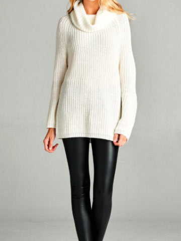 Turtleneck Sweater | Winter Wishes | sassyshortcake.com | sassy shortcake