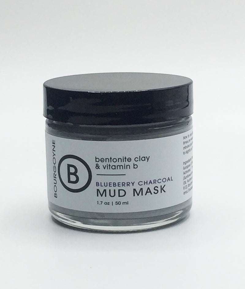 Blueberry Charcoal Mud Mask