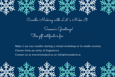 Virtual Candle Making Workshop