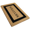 Single Picture Frame Mat - (30 x 48) - Personalized - 3 Colors Available-Heavy Duty Cocomat-Accentuary