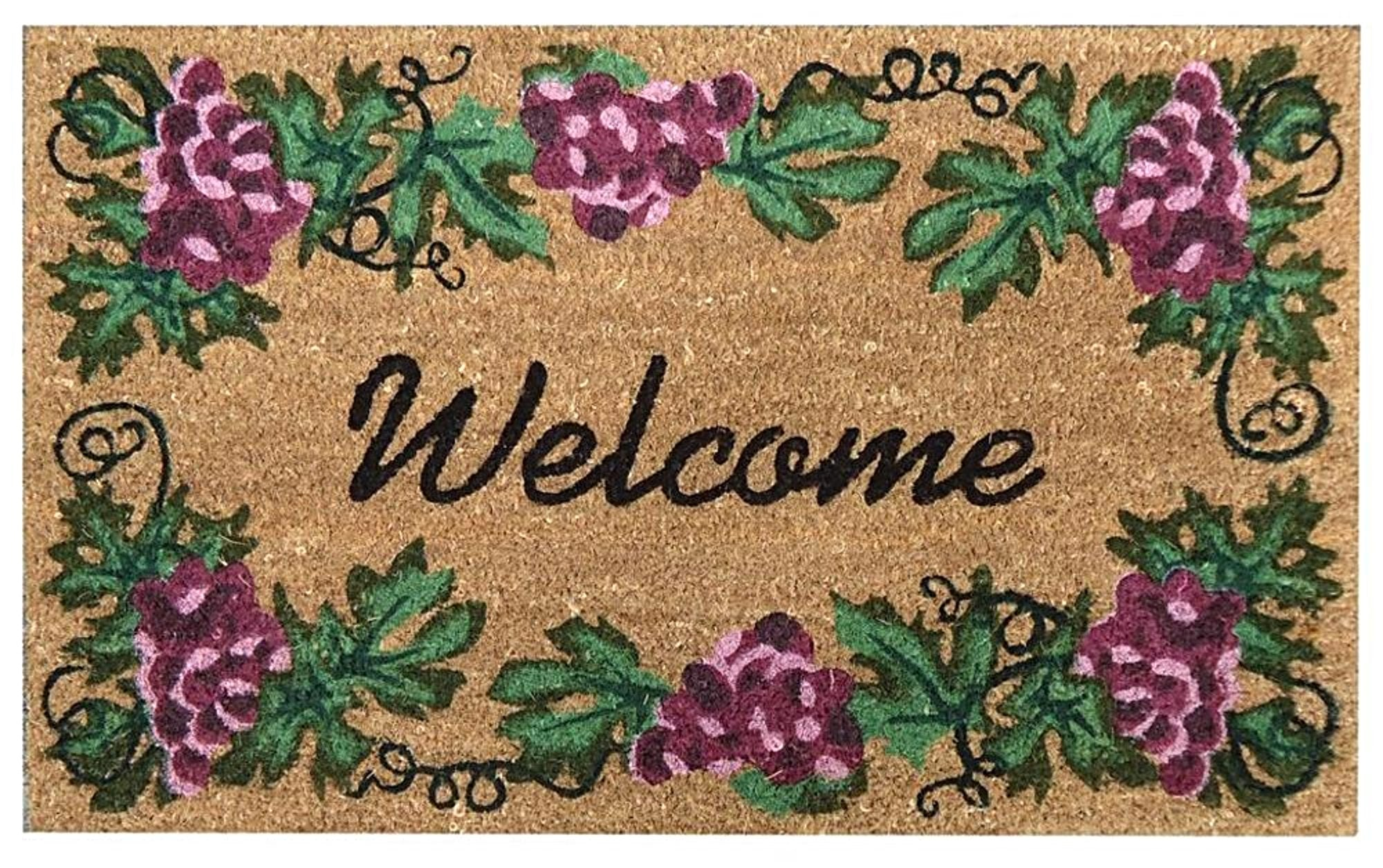 SuperScraper Mat - Grape Welcome - Accentuary