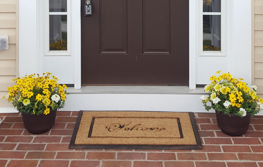 DirtBuster Mat - Picture Frame-Doormats-Accentuary