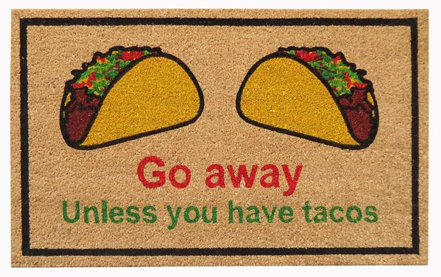 SuperScraper Mat -Tacos-Funny-Sayings
