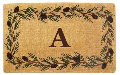 Evergreen Mat - 22 x 36 - Monogram-Heavy Duty Cocomat-Accentuary