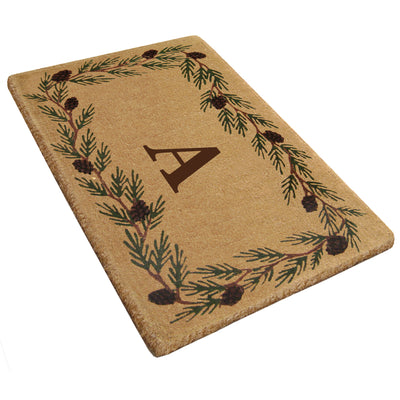 Evergreen Mat - 30 x 48 - Monogram-Heavy Duty Cocomat-Accentuary