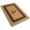Single Picture Frame Mat - (22 x 36) - Monogram - 4 Colors Available-Heavy Duty Cocomat-Accentuary