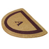 Single Picture Frame Mat - Half Round (22 x 36) - Monogram - 4 Colors Available-Heavy Duty Cocomat-Accentuary