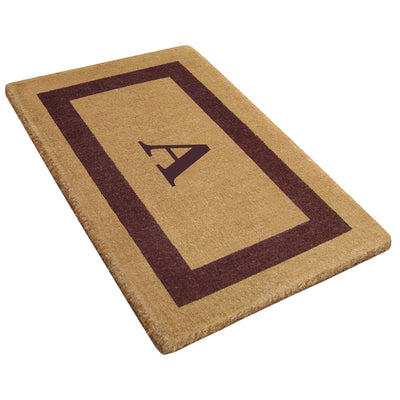 Single Picture Frame Mat - (30 x 48) - Monogram - 3 Colors Available-Heavy Duty Cocomat-Accentuary