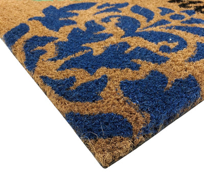 SuperScraper Mat - Spade Scroll-Doormats-Accentuary
