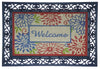 Rubber Frame Printed Coir Interchangeable Doormat - 3PC Set