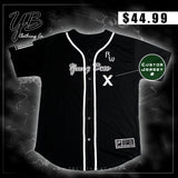 "Custom - ""New Jersey Rich Wolvez"" - Baseball Training Jersey"