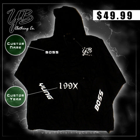 "Custom - ""Y.B. Attribute"" - Windbreaker"