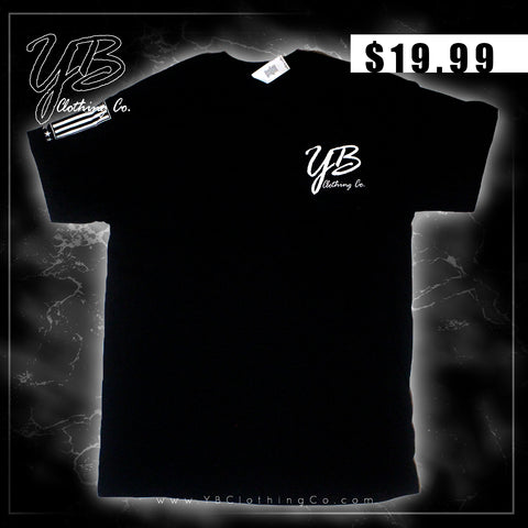 """Y.B. Logo (w/Flag)"" - Short Sleeve T-Shirt"