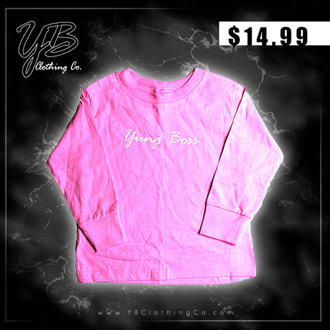 """Yung Boss"" - Kids Long Sleeve Thermal (Girls)"