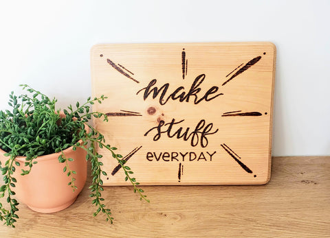 make stuff everyday