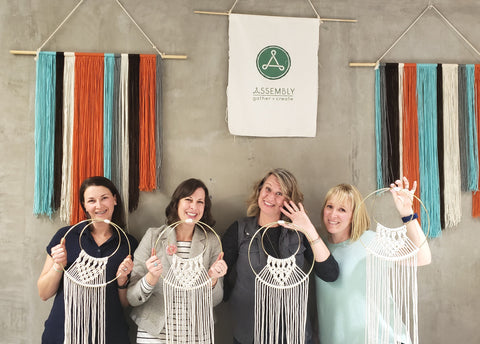 macrame workshop portland