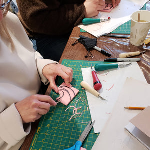 stamp carving class portland