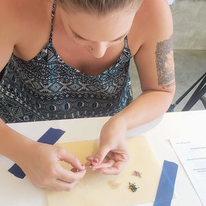 jewelry making workshop beading earrings