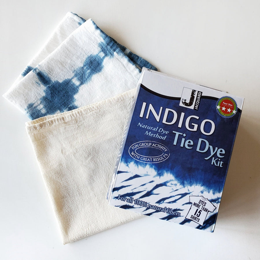 shibori and indigo dye kit