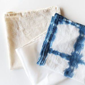 cotton silk scarf indigo dye kit