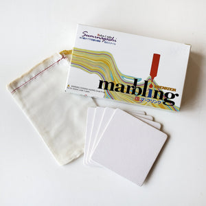 suminagashi paper marbling diy craft kit