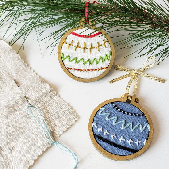 [Online] Embroidered Ornament Workshop