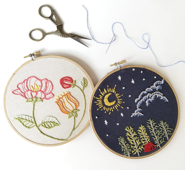 Beginner's Embroidery Workshop Portland
