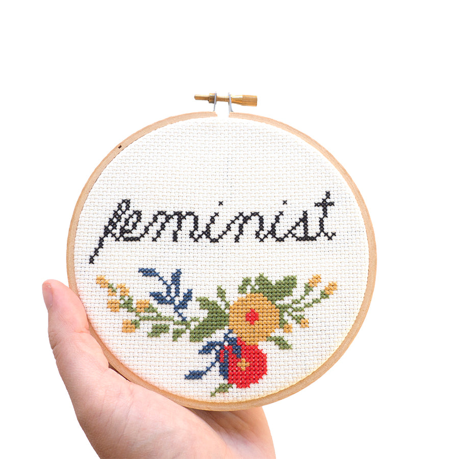 Cross stitch embroidery class