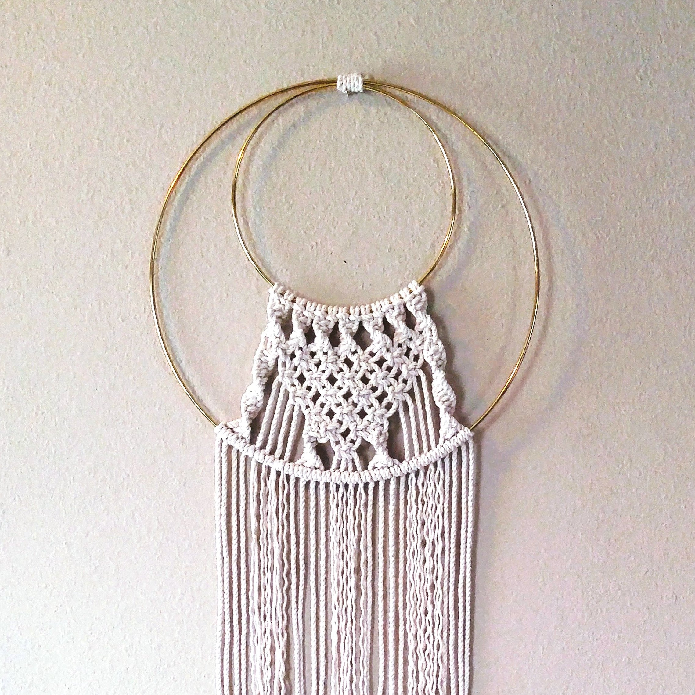 Macrame Wall Hanging Workshop Assembly Pdx