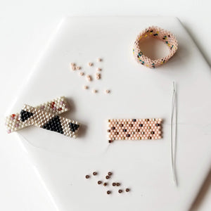 Woven Bead Ring Workshop