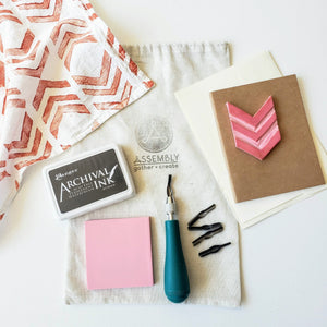 Block Printing Supply Kit